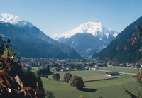 Mayrhofen in the Zillertal